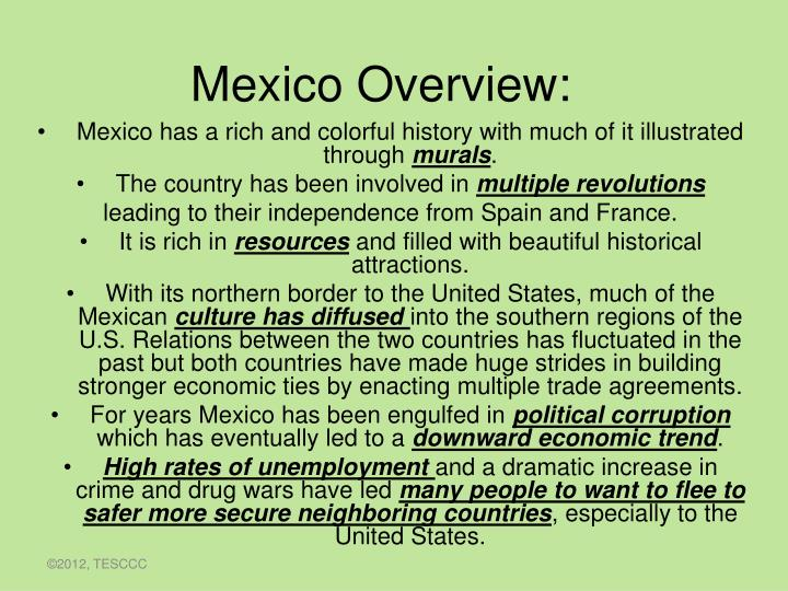 ppt mexico overview powerpoint presentation id 2002691