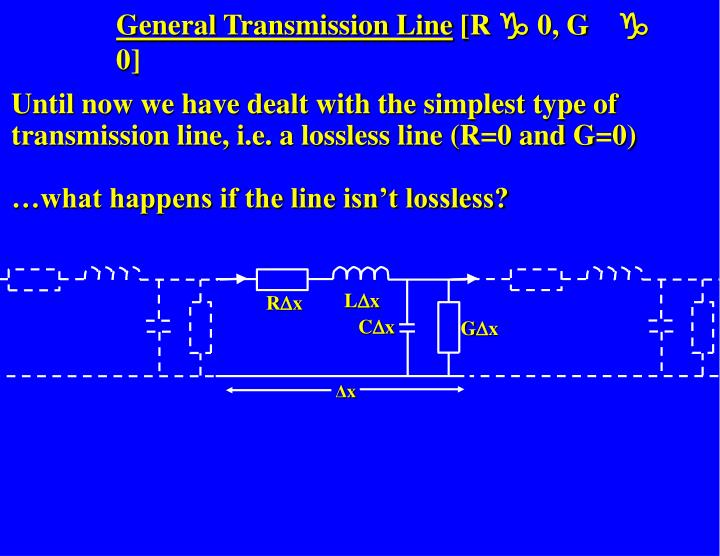 General Transmission Line