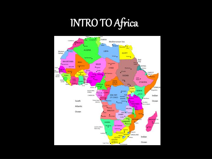 Intro to africa