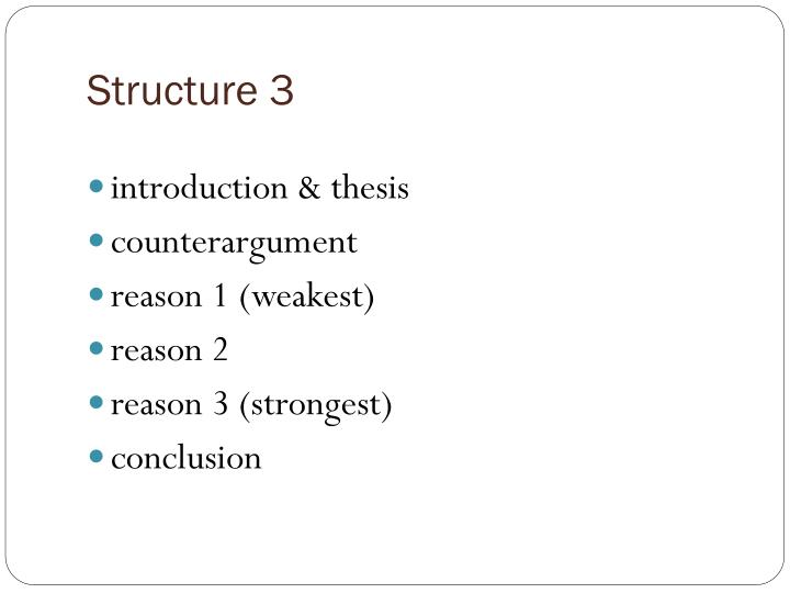 Structure 3
