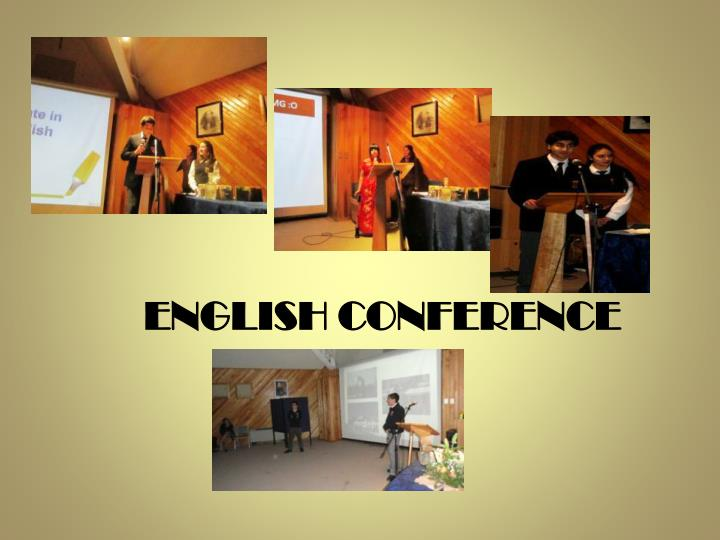 English conference
