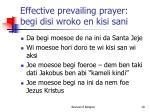 effective prevailing prayer begi disi wroko en kisi sani2
