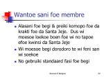 wantoe sani foe membre1