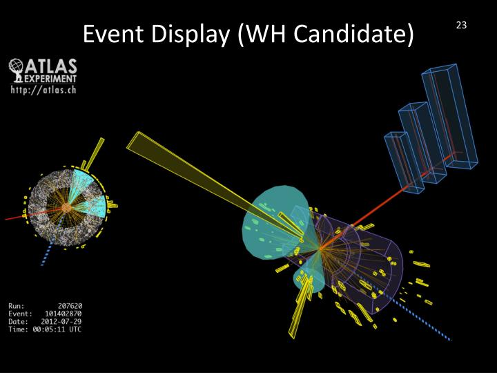 Event Display (WH Candidate)
