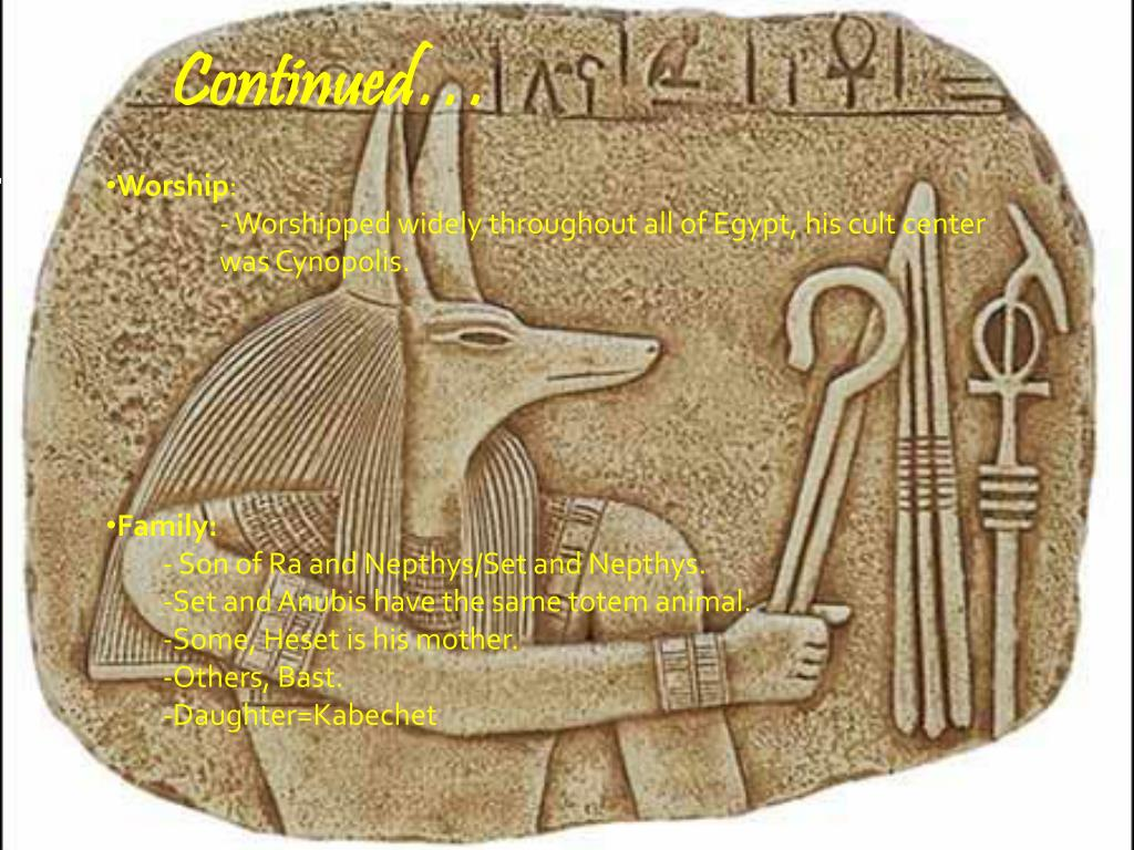 PPT - Anubis and the Mummification Process PowerPoint