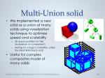 multi union solid