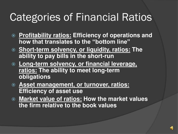 importance of financial ratios essay Financial literacy is a set of knowledge about financial markets, their functioning and management, its professional participants and their financial instruments, products and services, the ability to use them in full awareness of the consequences of their actions and the readiness to accept responsibility for.