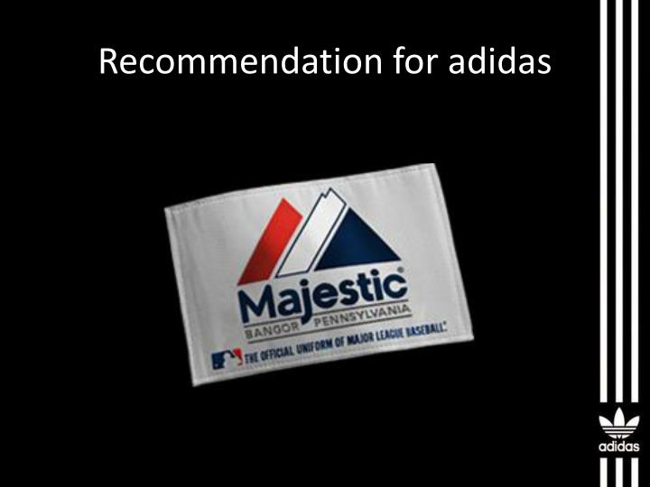 "recommendation for adidas Adidas ag (fra:ads) has been assigned an average rating of ""buy"" from the  twenty-six analysts that are covering the stock, marketbeatcom."