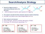 search analysis s trategy