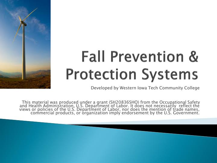 Fall prevention protection systems