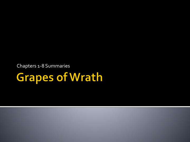 chapter 25 the grapes of wrath