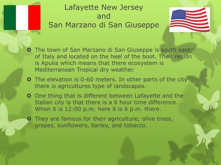 Lafayette New Jersey