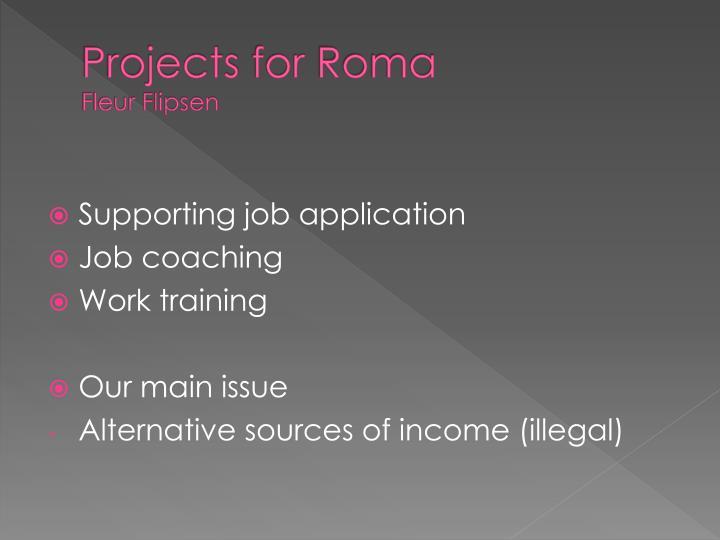 Projects for roma fleur flipsen