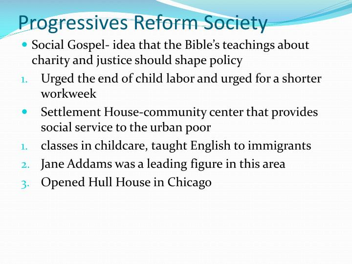 Progressives Reform Society
