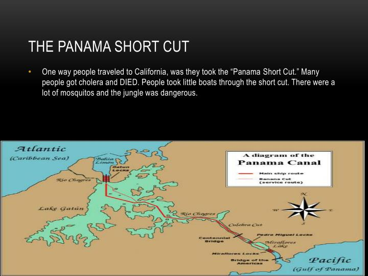 The panama short cut