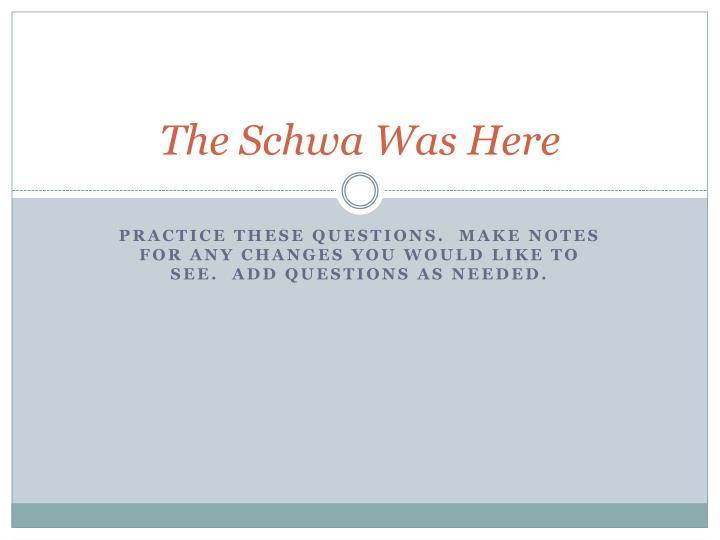 schwa essay Learn correct english pronunciation of the schwa /ə/ sound in this lesson you will learn how to pronounce the schwa sound correctly.