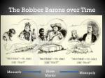 the robber barons over time