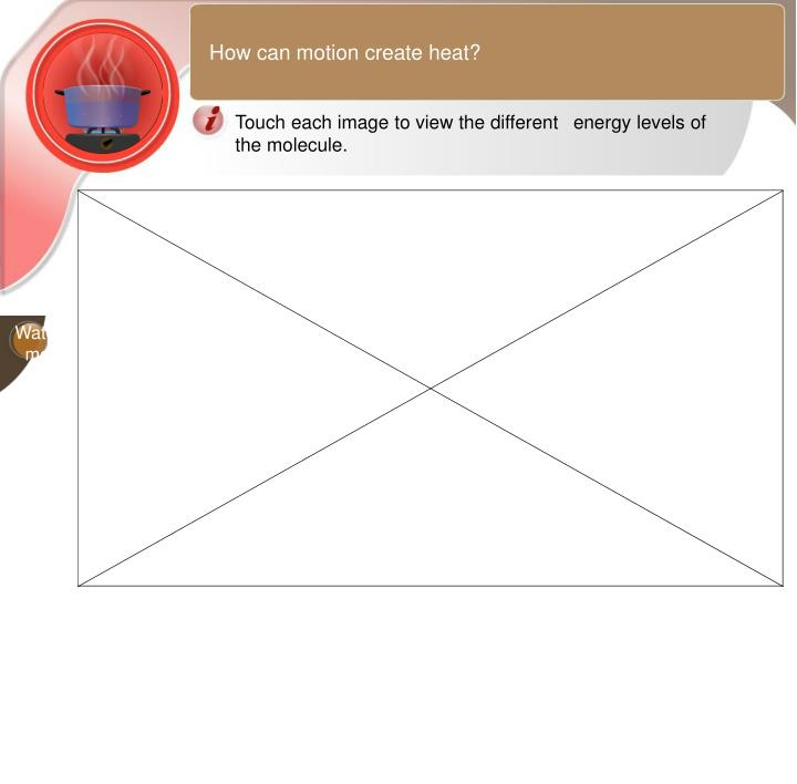 How can motion create heat?