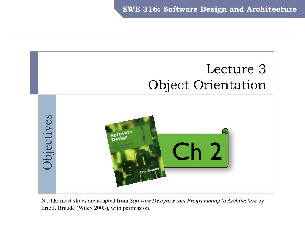 Ppt Lecture 3 Object Orientation Powerpoint Presentation Free Download Id 2006183