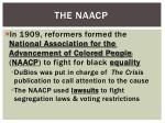 the naacp