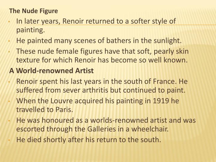 The Nude Figure