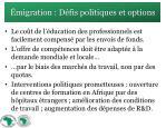 migration d fis politiques et options2