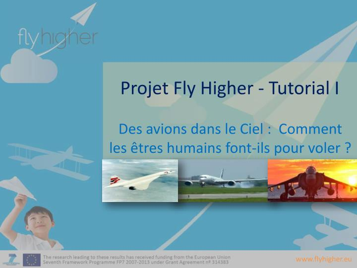Projet fly higher tutorial i