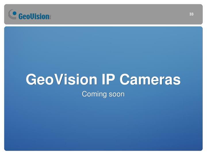GeoVision IP Cameras