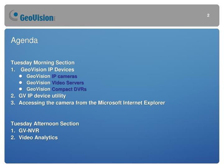 Geovision ip devices gv nvr