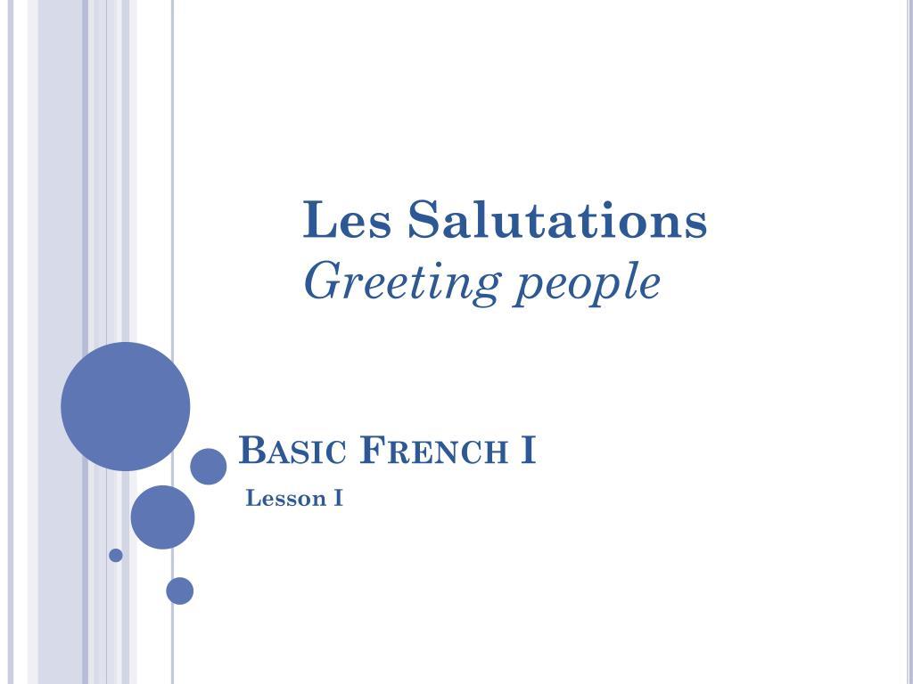 Ppt basic french i powerpoint presentation id2006932 basic french i n m4hsunfo