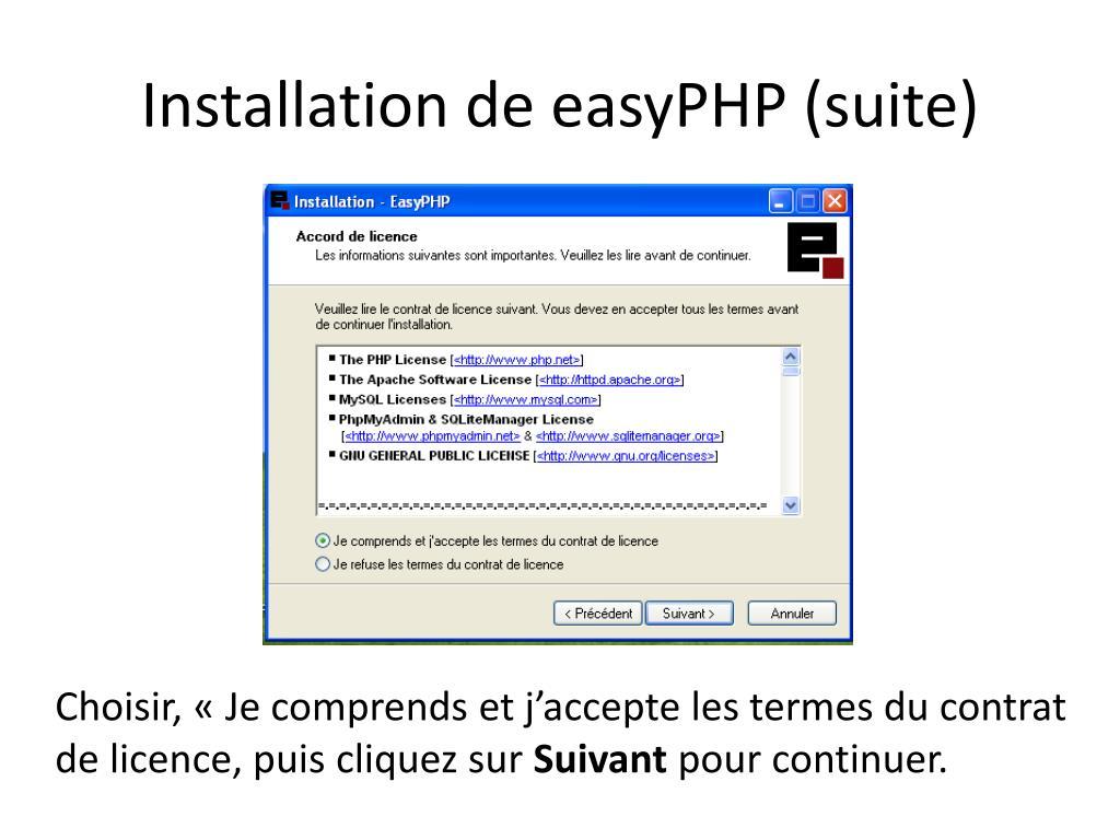 EASYPHP 1.9 TÉLÉCHARGER