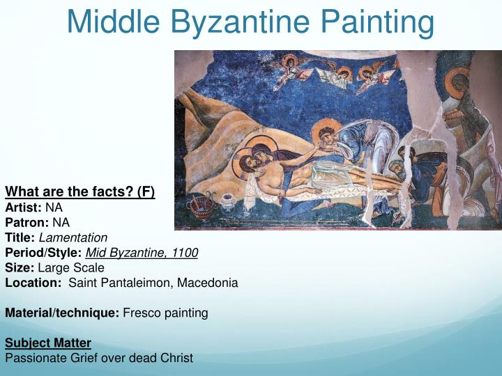 Middle Byzantine Painting