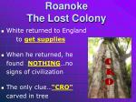 roanoke the lost colony1