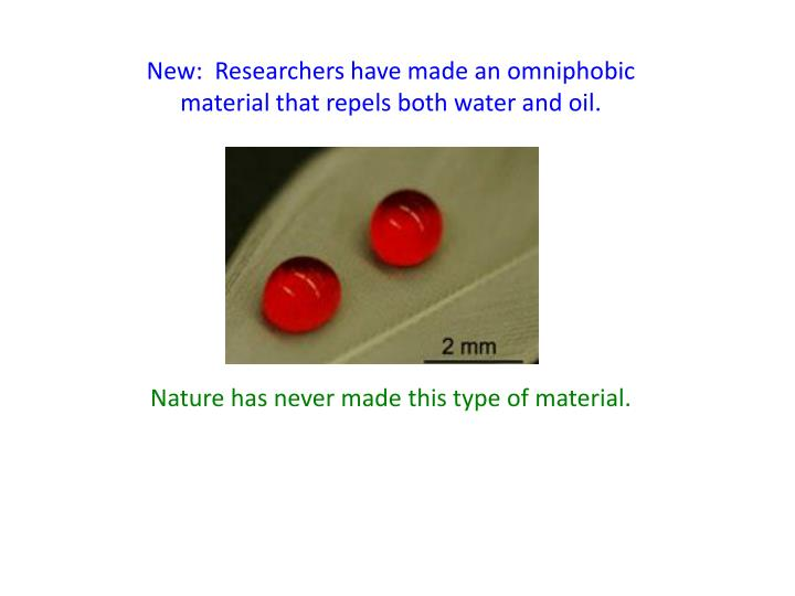 New:  Researchers have made an