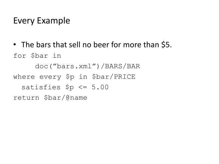 Every Example