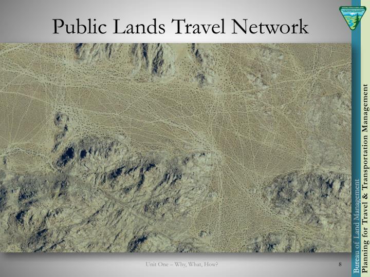Public Lands Travel Network
