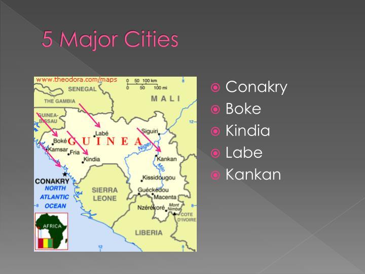 5 Major Cities