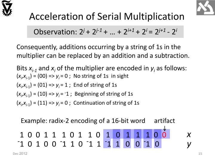 Acceleration of Serial Multiplication