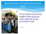 brief history of southend carnival quiz1