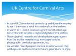 uk centre for carnival arts