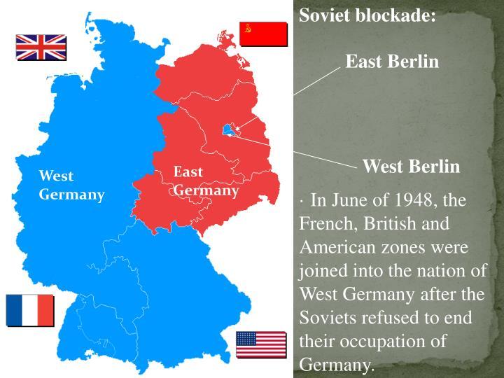 Soviet blockade: