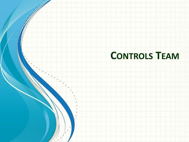 Controls Team