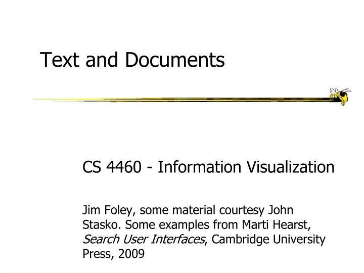 text and documents n.