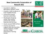 new community corporation of newark nj