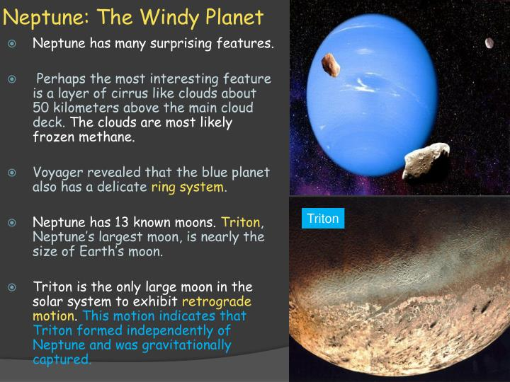 Neptune: The Windy Planet