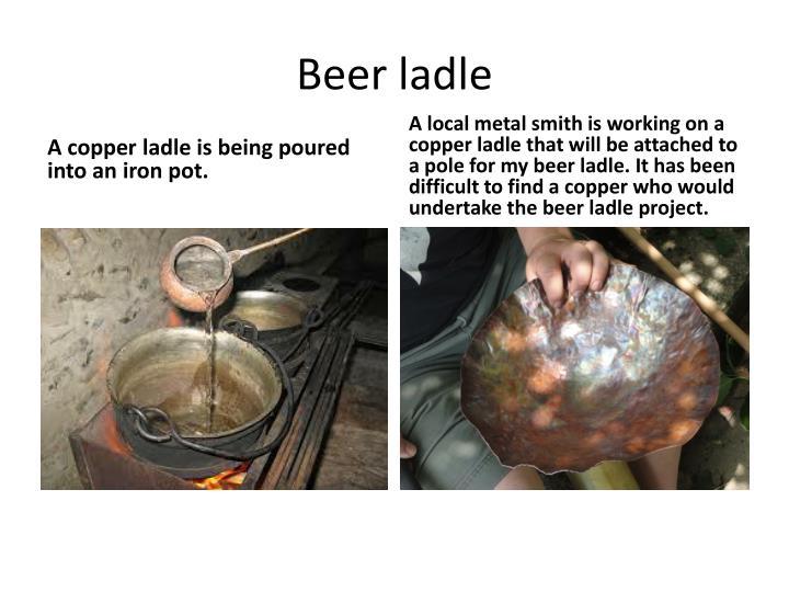 Beer ladle