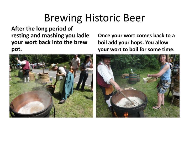 Brewing Historic Beer