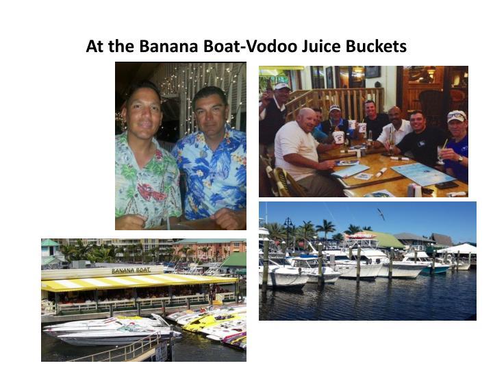 At the Banana Boat-