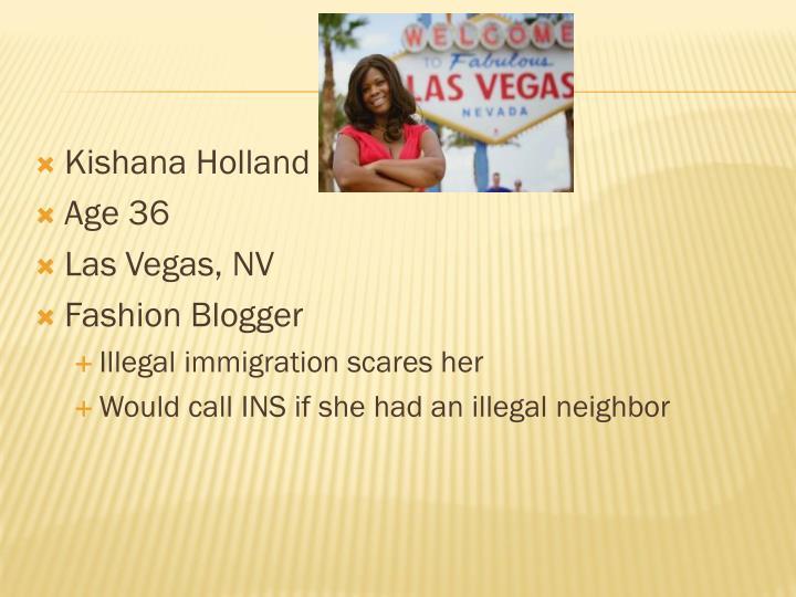 Kishana Holland
