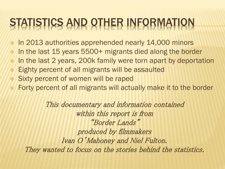 In 2013 authorities apprehended nearly 14,000